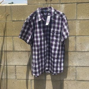 Kenneth Cole Reaction Other - NWT KENNETH COLE REACTION XXL PLAID SHIRT.