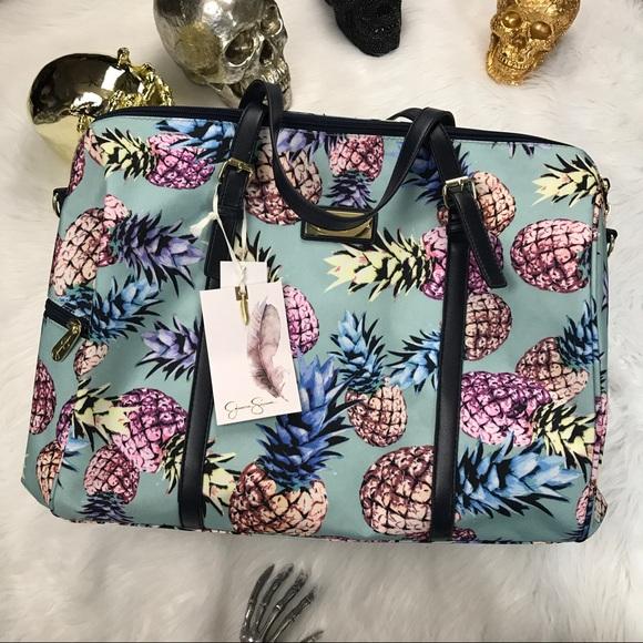 Jessica Simpson Bags Last One Pineapple Weekender Bag