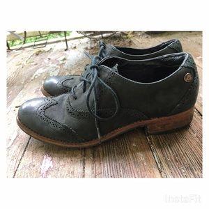 Sebago Shoes - Black Oxfords 6.5 /37 Sebago Claremont Brogues