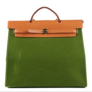 2c87a6e085 Hermes Bags - ❌SOLD❌HERMES Toile Herbag Zip 39 MM Pelouse