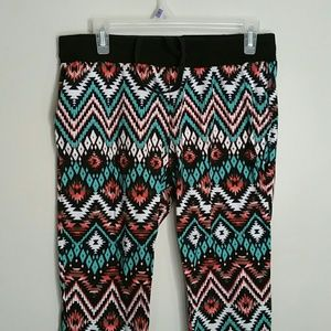 TRIBAL JOGGERS- SIZE LARGE