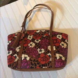 Kim Rogers Handbags - Leopard-floral tote