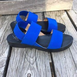 Report Shoes - 🆕List! Report Blue Slingbacks! NEW!