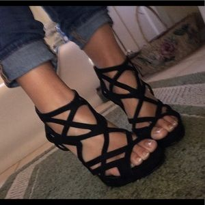 Shoemint Shoes - Strappy Heels