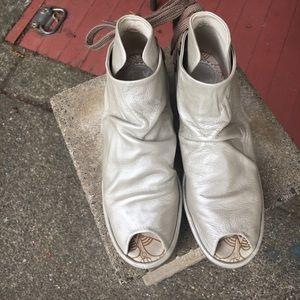 Fly London Shoes - Fly London peep toe boot