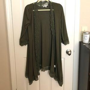 Flowy kimono cardigan