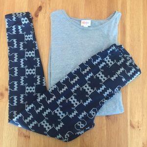 LuLaRoe Pants - ☀️LLR OS/Irma Outfit