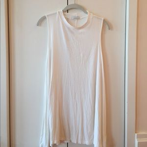 Acemi Dresses & Skirts - Simple White Tank Dress