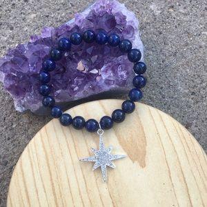 handmade Jewelry - Handmade Lapis Bracelet