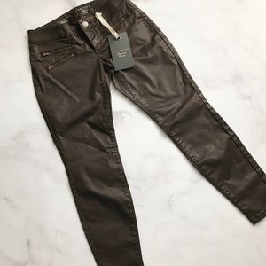The Limited Denim - The Limited Coated Skinny Denim