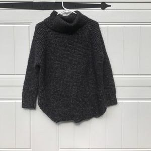 Free People oversized knit turtleneck sweater