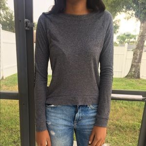 Cute gray sweater from Delia's