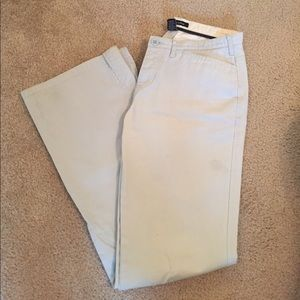 Abercrombie & Fitch light blue khaki pants