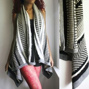 a.n.a Jackets & Blazers - Ana Striped Shawl