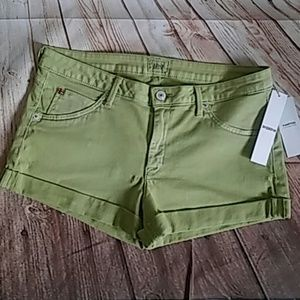 Hudson Jeans Pants - Adorable Lime Green Cuffed 'Hampton' Short