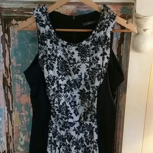 Animale silk dress