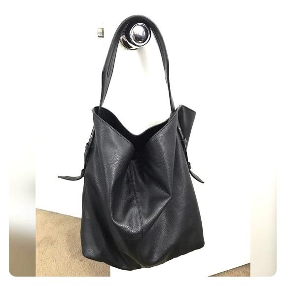 68d8998074e ZARA Basic Slouchy Bag. M 5939c9dc8f0fc47f9404582a