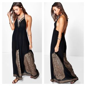 ASOS Dresses & Skirts - NWT Black Maxi Backless Dress