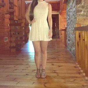 Rhapsody Dresses & Skirts - Lace High Neck Dress