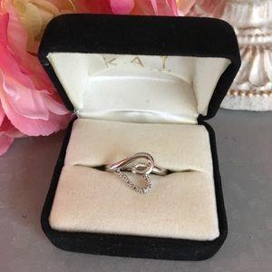 Kay Jewelers Jewelry - Beautiful Kay Jewelers Silver Ring