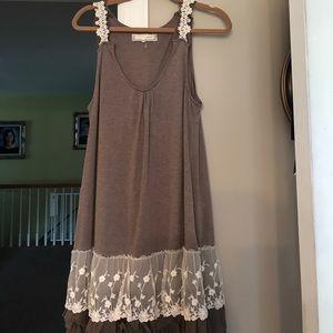 Areve Dresses & Skirts - Brown dress