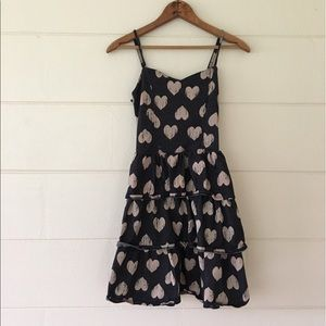 Charlotte Russe Denim with Hearts Dress