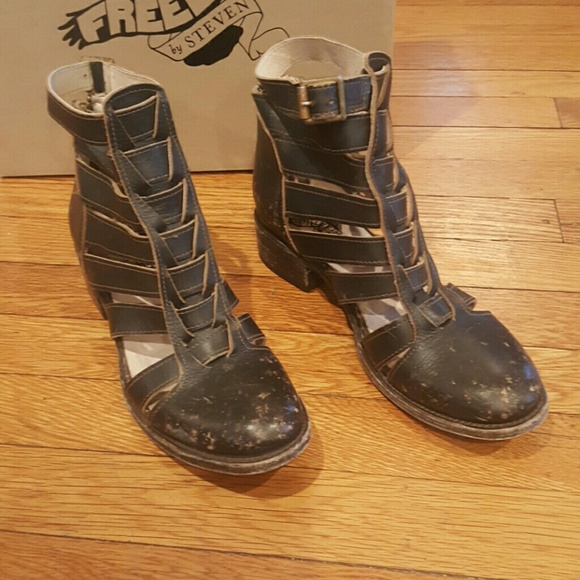5986ddb97a FREEBIRD by steven Shoes - FREEBIRD BY STEVEN BLACK SIZE 9 WOMENS SHOES