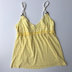 OLD NAVY SUNNY YELLOW TANK. TOP BLOUSE SIZE S