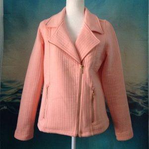 Isaac Mizrahi Jackets & Blazers - QVC Isaac Mizrahi Live Quilted Knit Moto Jacket