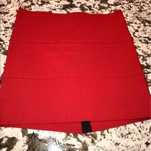 Pleasure Doing Business Dresses & Skirts - PLEASURE DOING BUSINESS red bandage skirt