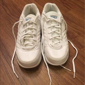 Brand New Solid White Nike Sneakers