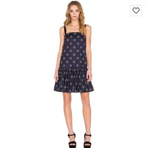 The Fifth Label Radio Edit Circular Print Dress