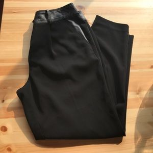 Loft Black Work Pants  -4