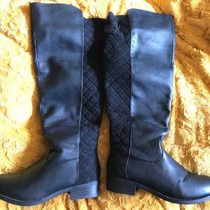 Size 8 Torrid wide calf tall boots