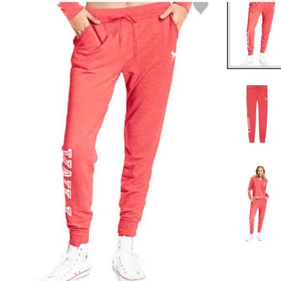 847d87251dd83 PINK Victoria's Secret Pants | Victorias Secret Pink Skinny Jogger ...