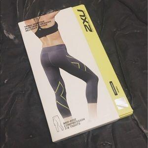 2xu Pants - NIB 2XU 7/8 compression leggings