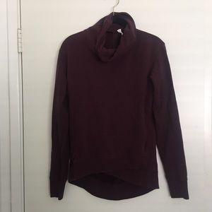 Lululemon Burgundy Sweatshirt