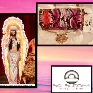Big Buddha Handbags - 🦋Big Buddha💖Python🖤Crossbody Clutch🖤Wallet💖
