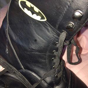 Bioworld Other - Batman boots. Top folds down