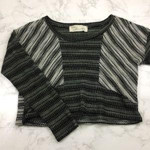 Vintage Havana Tops - Vintage Havana Crop Top Knit Sweater