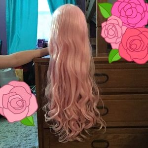 Other - SOLD Long Light Pink Wavy Cosplay Wig