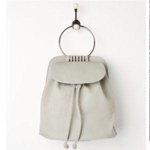 Handbags - Silver ring backpack