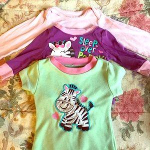 Toddler girl 6 to 12 month pajama lot plus