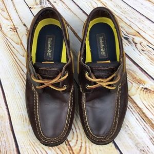 Timberland Other - Timberland men's leather boat shoes size 9M