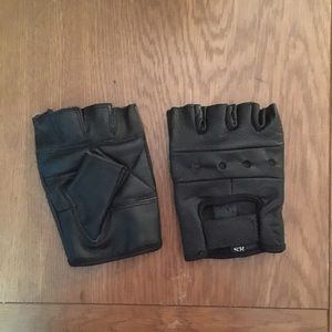 Other - Leather Motorcycle Gloves