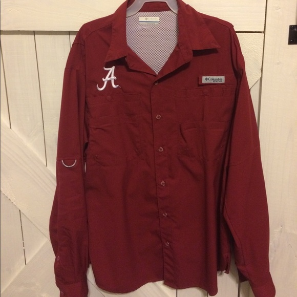 72 off columbia other university of alabama columbia for College button down shirts