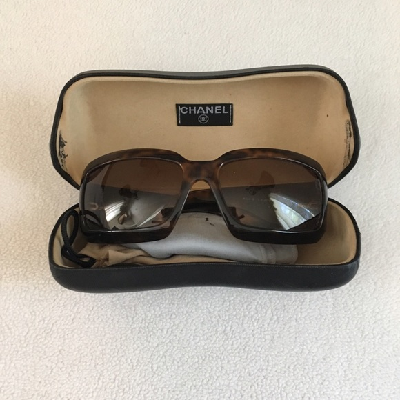 99e5736514f7 CHANEL Accessories | Crocodile Signature Sunglasses 6022 | Poshmark