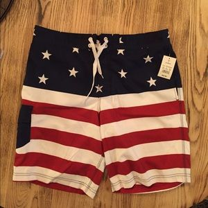 Bioworld Other - NWT's American Flag Shorts for Him✨