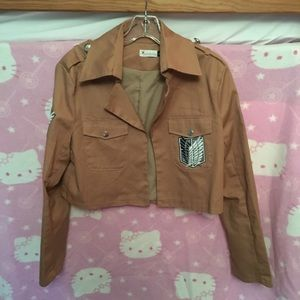 Jackets & Blazers - Attack on Titan Survey Corps Cosplay Jacket