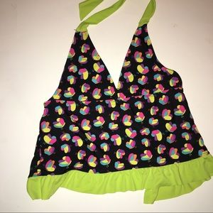 Other - Must Bundle! Sz 14-16 Girl's Neon Halter Tankini